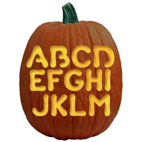 Custom Carving Letter B Pattern Available On Stoneykins Com Pumpkin Carving Pumpkin Decorating Contest Halloween Pumpkins Carvings