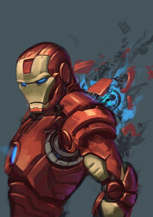 Iron Man Art For Christophers Room Iron Man Iron Man Comics