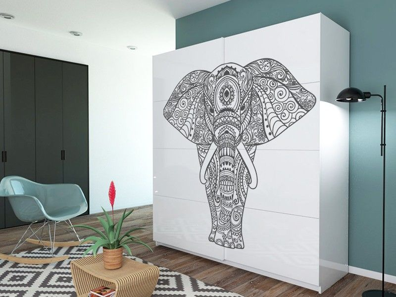 Mandala Elefante En 2018 Spaces Pinterest Decoracion De Unas - Ultimas-tendencias-en-decoracion-de-paredes