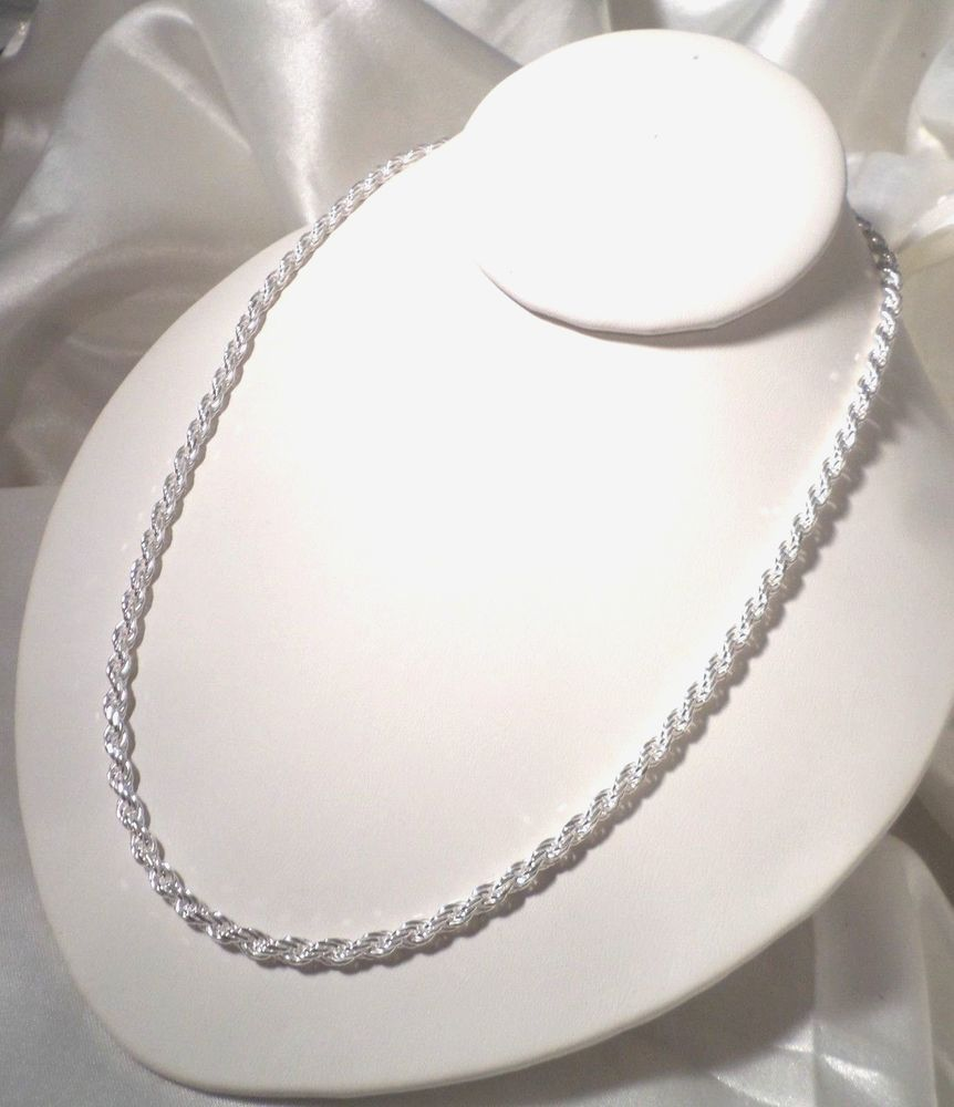 """2mm Ball Premium Italian Quality 925 Sterling Silver 16/""""-30/"""" Chain Necklace"""