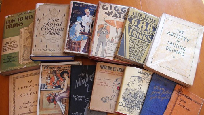 Vintage Cocktail Books | Cookbooks: Past & Present