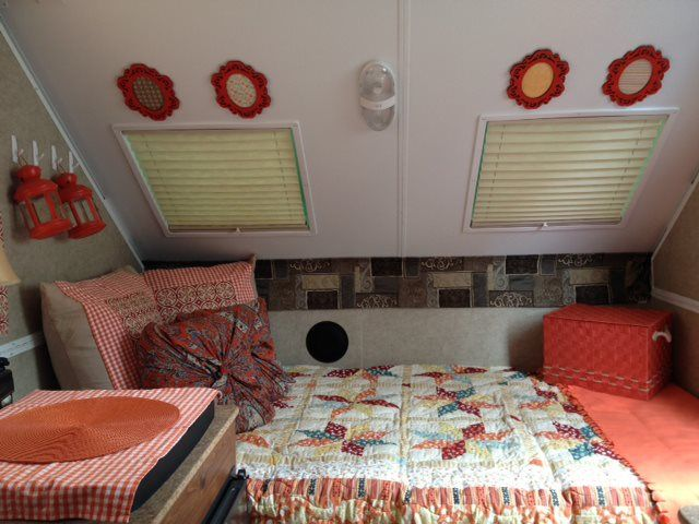 Dining Room Converted To Relaxing Nook A Frame Camper