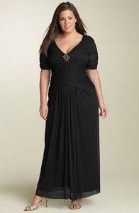7ed36142ec 11 Vestidos de fiesta para gorditas de 50 años (9)