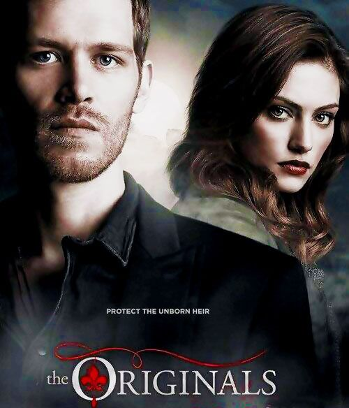 Promotional Poster Klaus Mikaelson Hayley Marshall Assistir