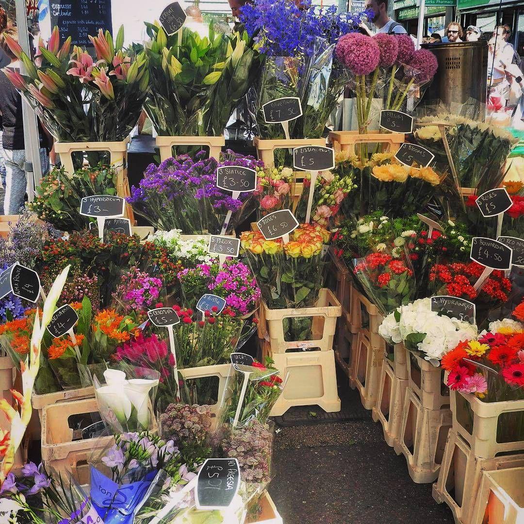 Endless Options Flowers Market Columbiaroadflowermarket Picoftheday London Columbia Road Flower Market Flower Market Instagram