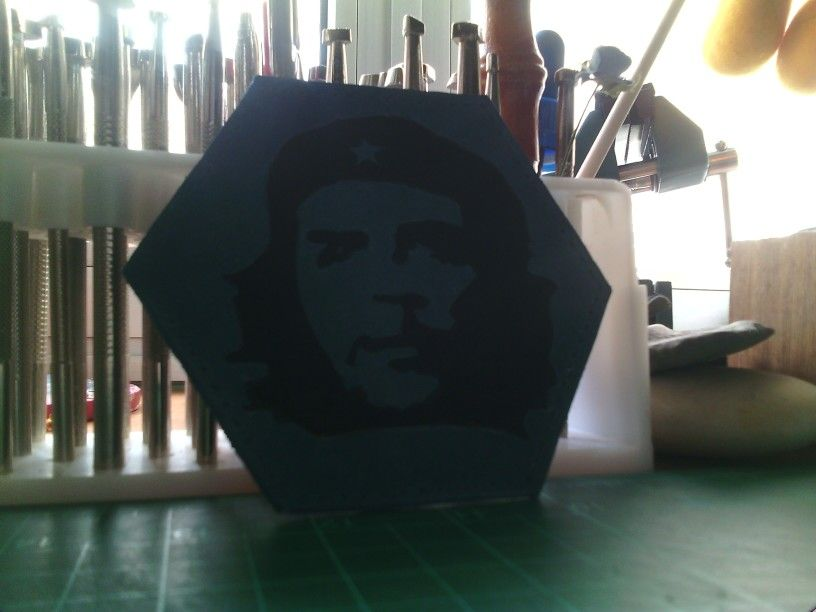 Working leather che guevara