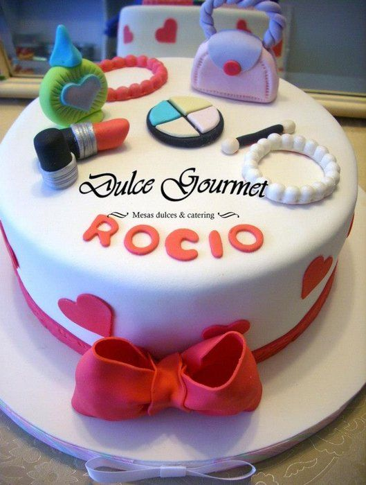 Fashion cake for a young girl birthday party ideas Pinterest