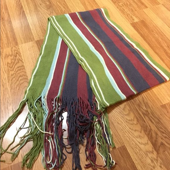 Royal Robbins striped scarf. Extremely soft, Royal Robbins multi-stripe scarf. Royal Robbins Accessories Scarves & Wraps