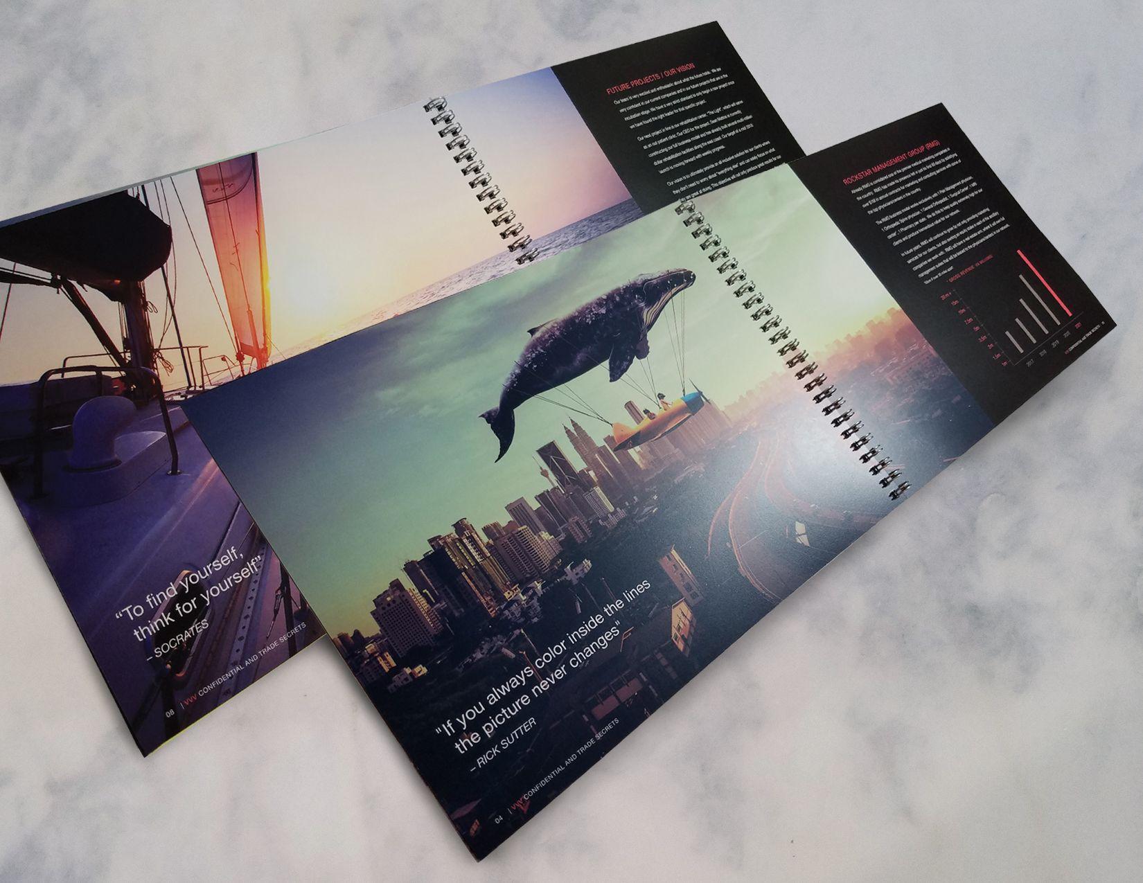 Vvv Investor Presentation Booklet Design Spreads Bookletdesign
