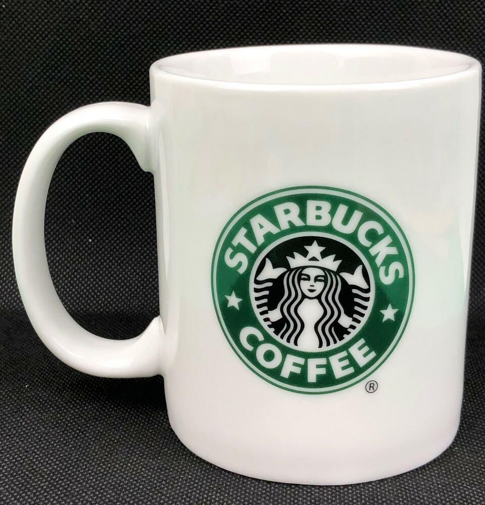 2006 Starbucks Mermaid Siren 12 oz Coffee Mug Cup White