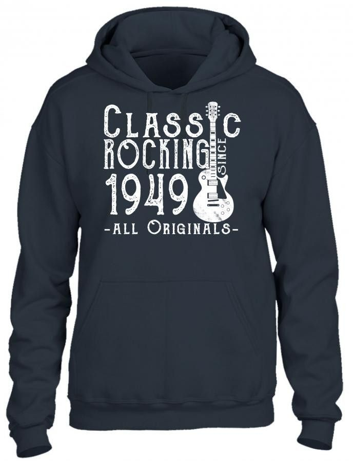 rocking since 1949 copy HOODIE