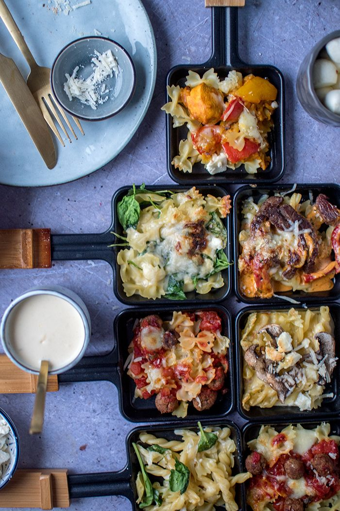 Photo of Raclette Pasta Party: 4 sauces for the pasta pan ⋆ crispy room