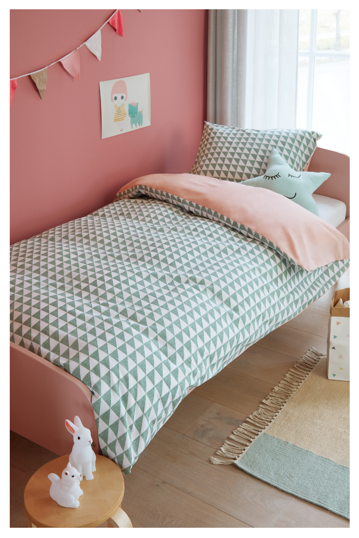 Bettwasche Faas Green In 2020 Bettwasche Kinder Kinder Zimmer Und Madchen Bett
