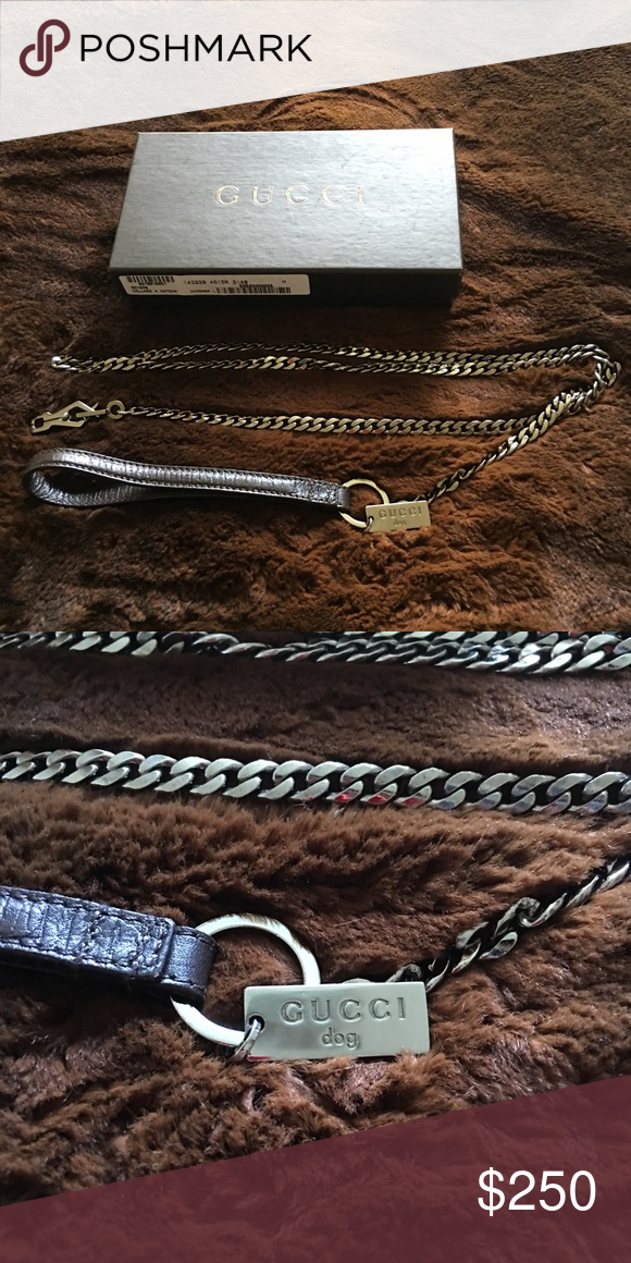 8ac3e0baa2b Spotted while shopping on Poshmark  Gucci Dog leash!  poshmark  fashion   shopping