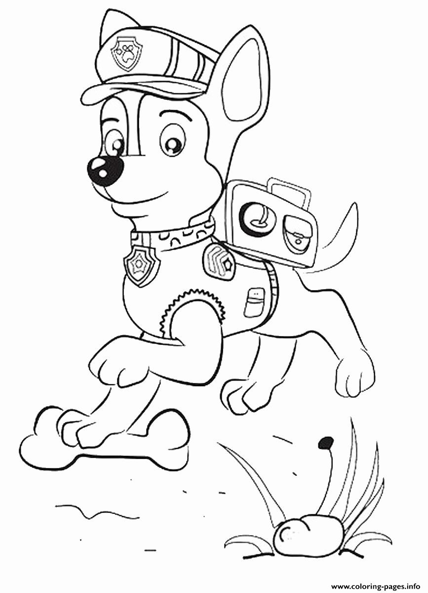 10+ Chase coloring page free information