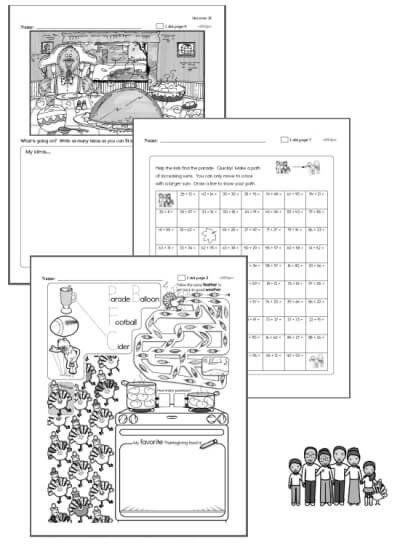 Thanksgiving Reading Comprehension Worksheets Thanksgiving