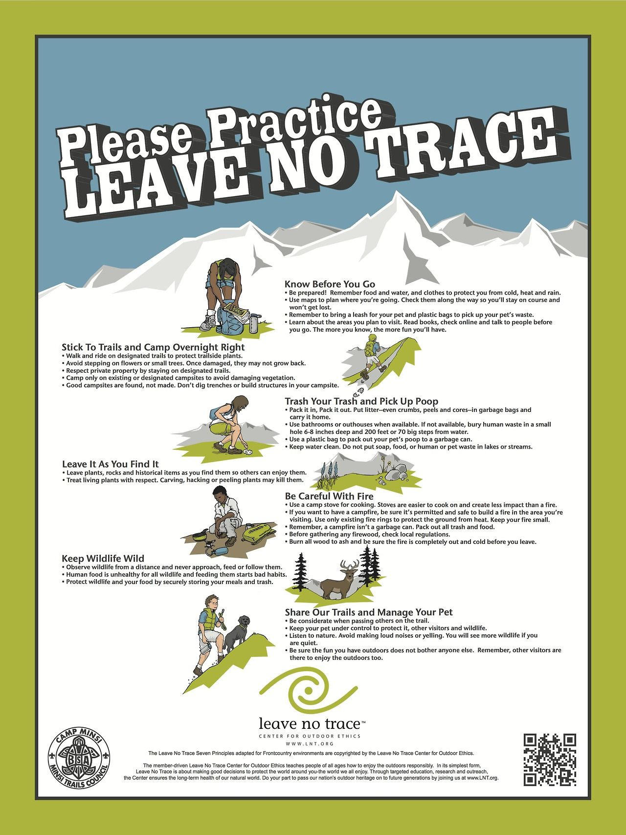 Pin On Leave No Trace