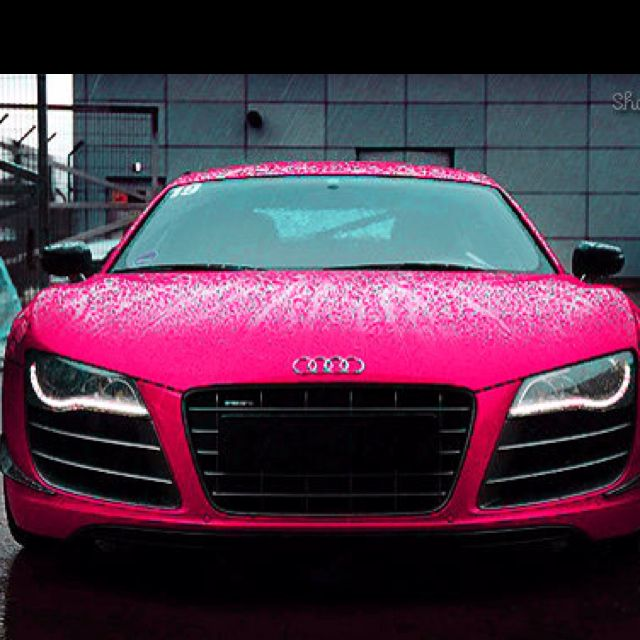 Boy, If There Really Was A Hot Pink Audi Out There....Iu0027d Take It. From Tony  Stark. Of Course.