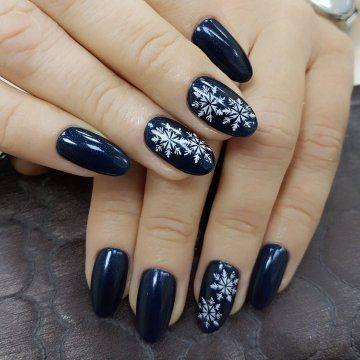 122 winter nail art designs  best polish colors 20182019