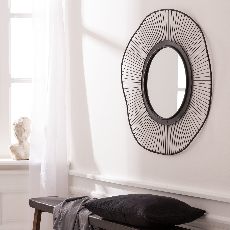 Des Miroirs Qui Refletent Votre Style Miroir Miroir Rond Miroir Ondule