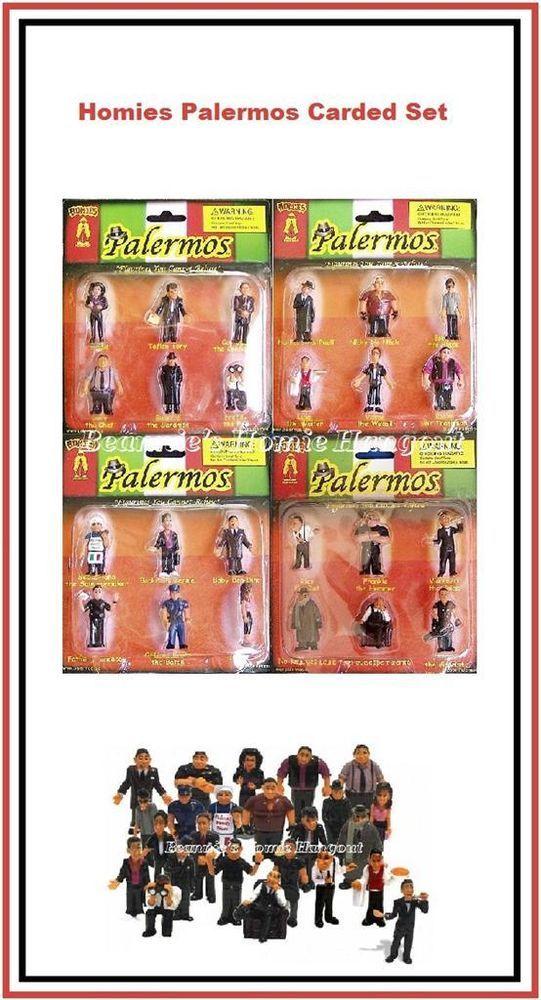 Homies figuras//figures-set 1,2,3,4 1:24 nuevo