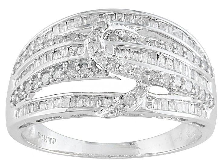 Diamond 10k White Gold Ring 67ctw Prv2482 White Gold Rings White Gold Gold Rings