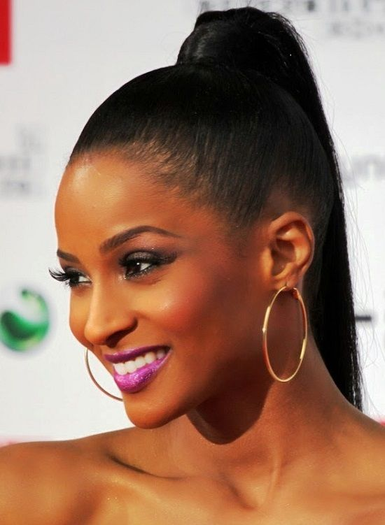 cute back ponytails African American | New Hairstyles Ideas | Black ponytail hairstyles, High ...