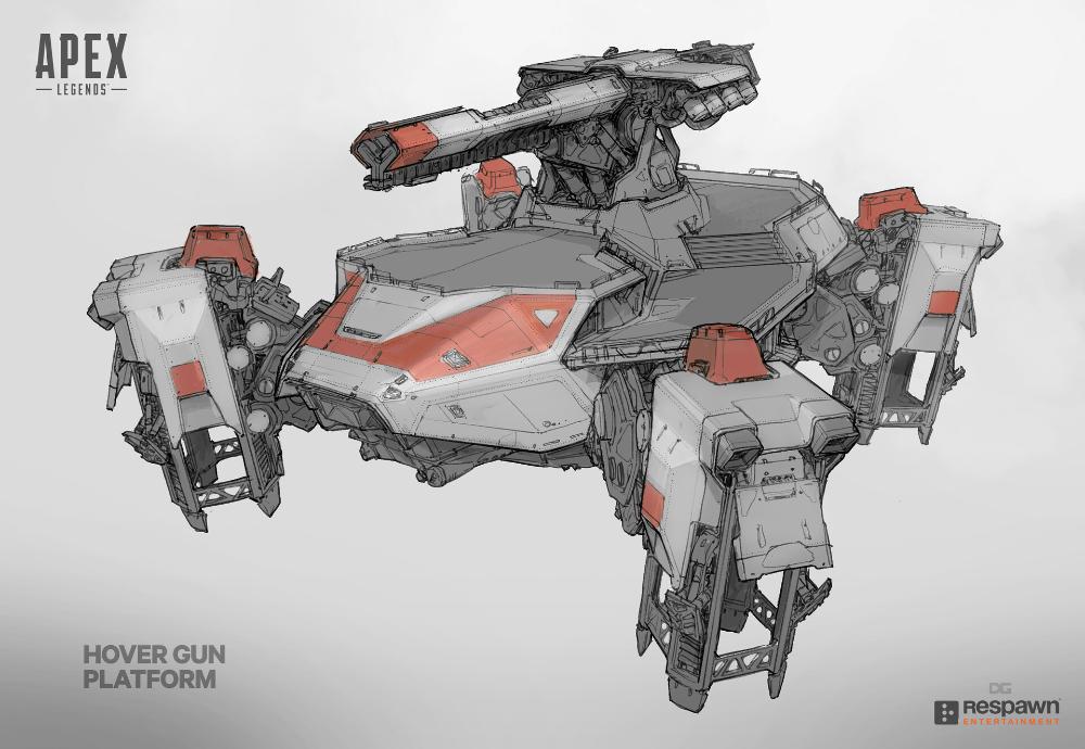 ArtStation Apex Loot Ship, Danny Gardner Корабль, Рыцарь