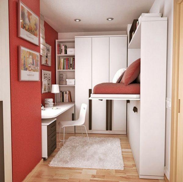 Ziehen Sie Möglichst Viel Nutzen Von Einem Funktionalen Zimmer, Besonders  Wenn Es Zu Klein Ist. Zum Beispiel... Multifunktionales Schlafzimmer  Gestalten