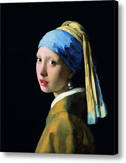 Jan Vermeer Girl With A Pearl Earring Print