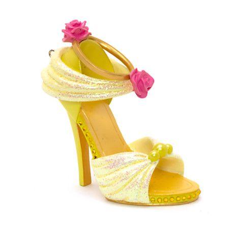 Mini chaussure dcorative Belle | Disney!!! | Decorated ...