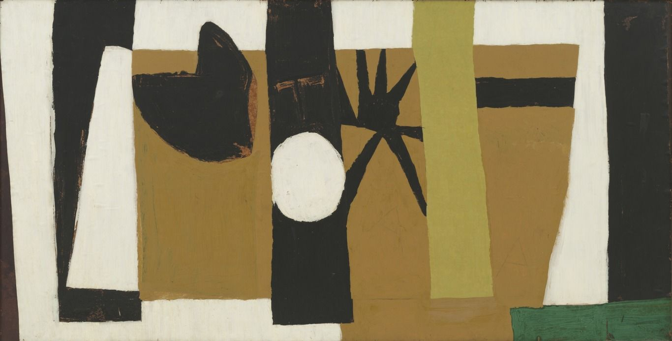 Robert Motherwell. The Voyage. (1949)