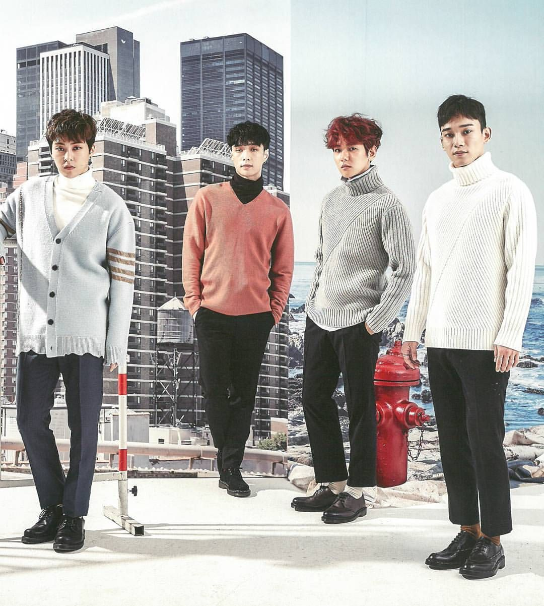 They are so perfect --- [SCAN] EXO Season Greeting Calendar with #XIUMIN~ #exo #xiumin #minseok #xiuchen #chen #minseookiee