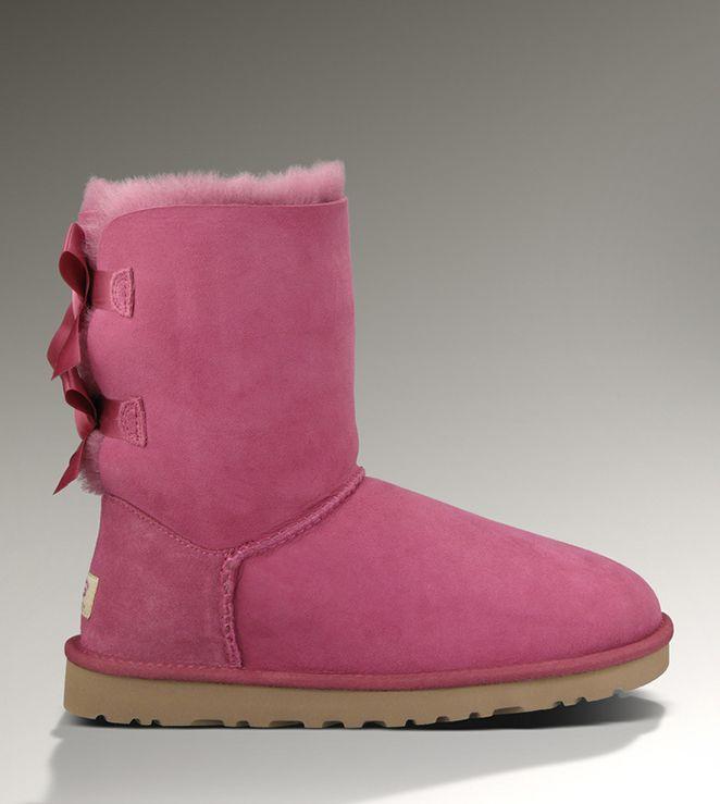 adeee5ffa3b UGG Bailey Bow 1002954 Dark Dusty Rose Boots   UGG Warm Boots in ...