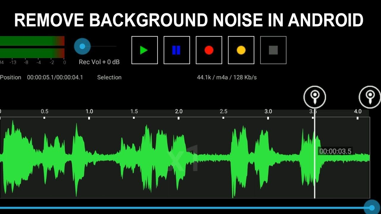 How To Remove Background Noise In Android 2019 | How to ...