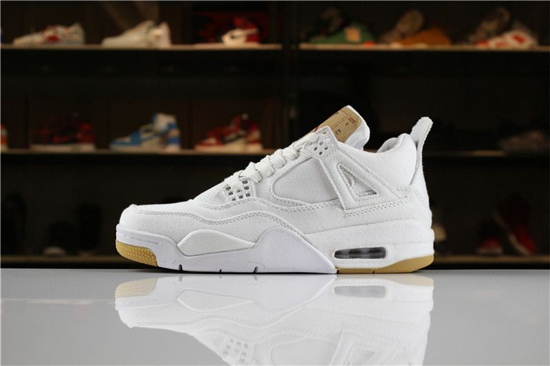 best sneakers 404df 1f4a3 Levi\'s x Air Jordan 4 \