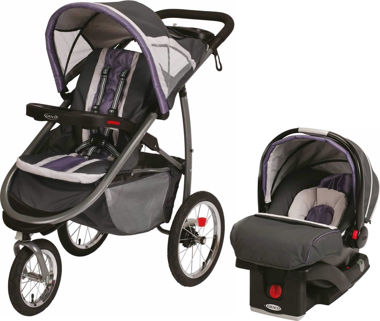 Graco Fast Action Jogger & Snugride Click Connect Travel