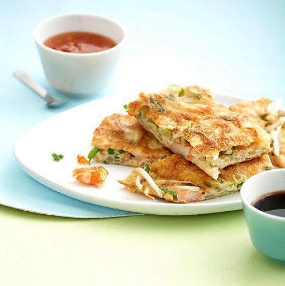 Asia-Omelette 4 g KH pro Portion