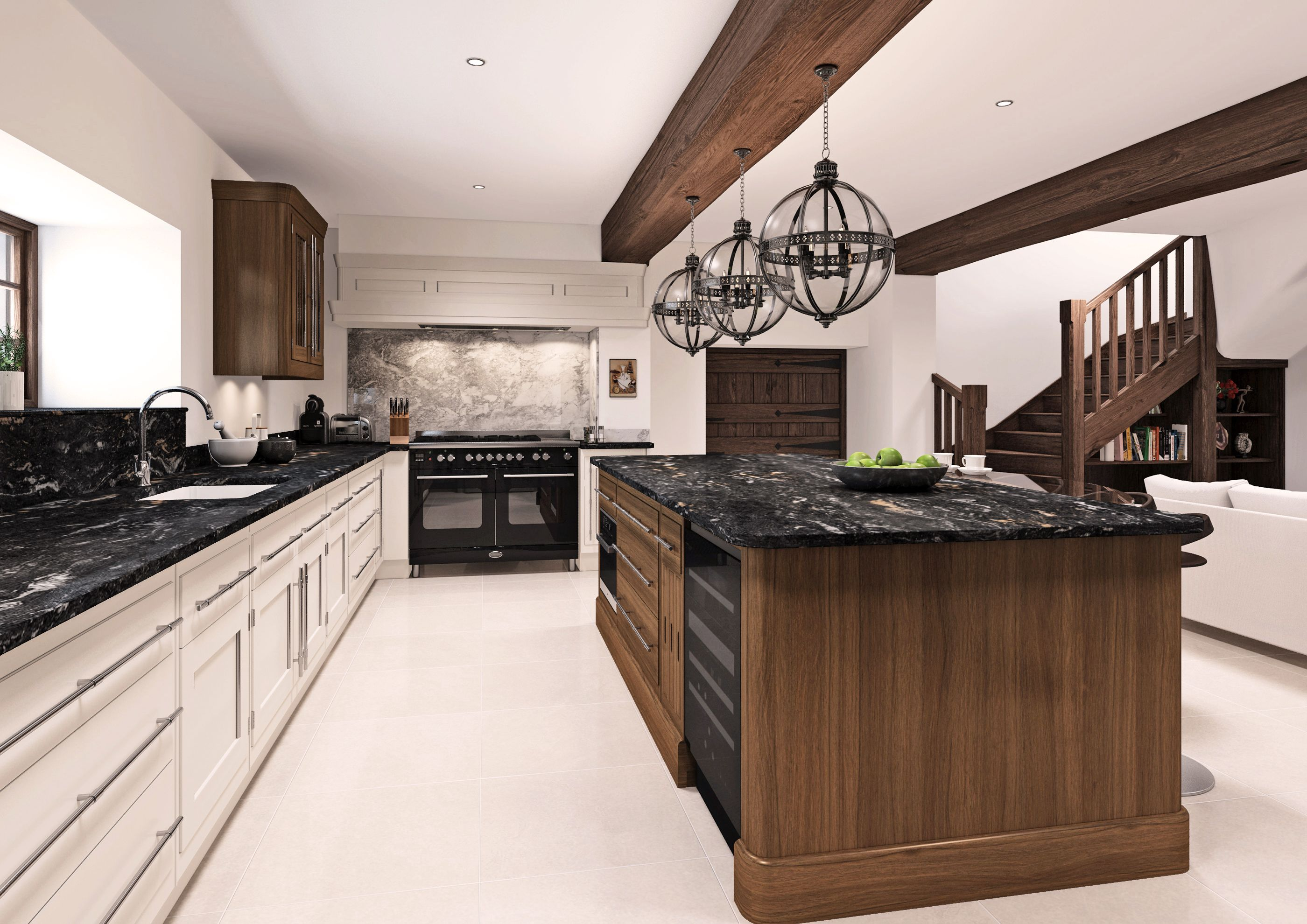 Mark Wilkinson Milan Kitchen CGI Kitchen, Home decor, Decor