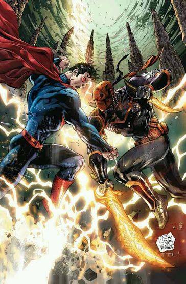 Superman Vs. Deathstroke