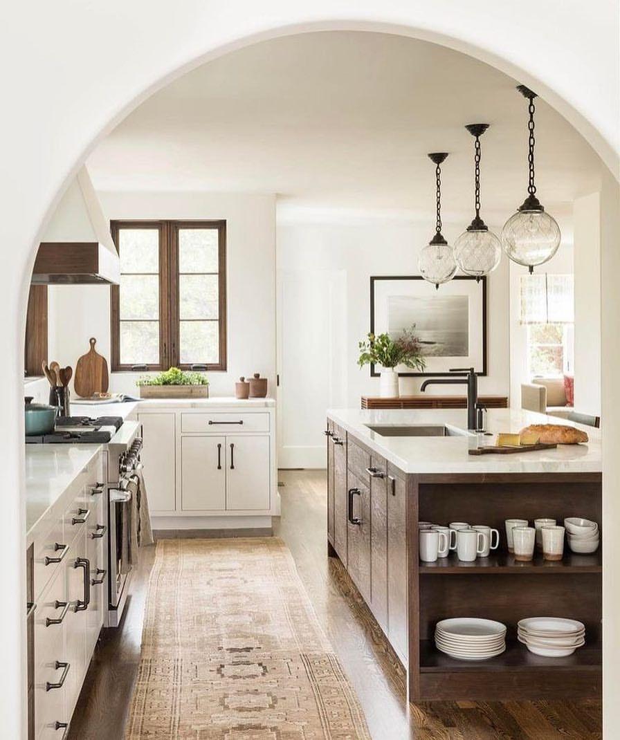 Cuisine Champêtre Moderne: Épinglé Par Camille Martinet Sur My Dream House