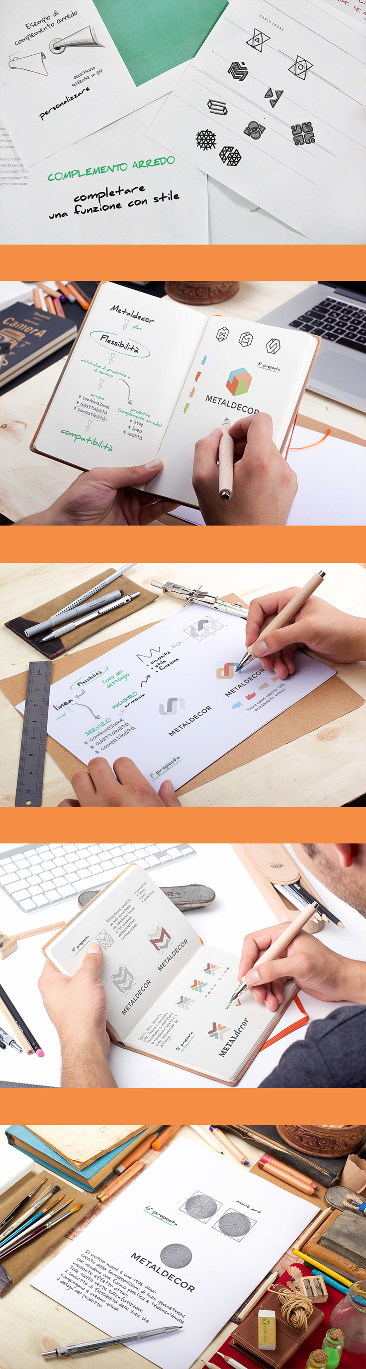 From Brainstorming to Brand Definition - Corporate Logo Design