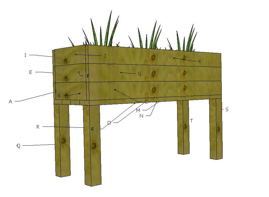 Elevated Planter Box Elevated Planter Box Planter Boxes 400 x 300
