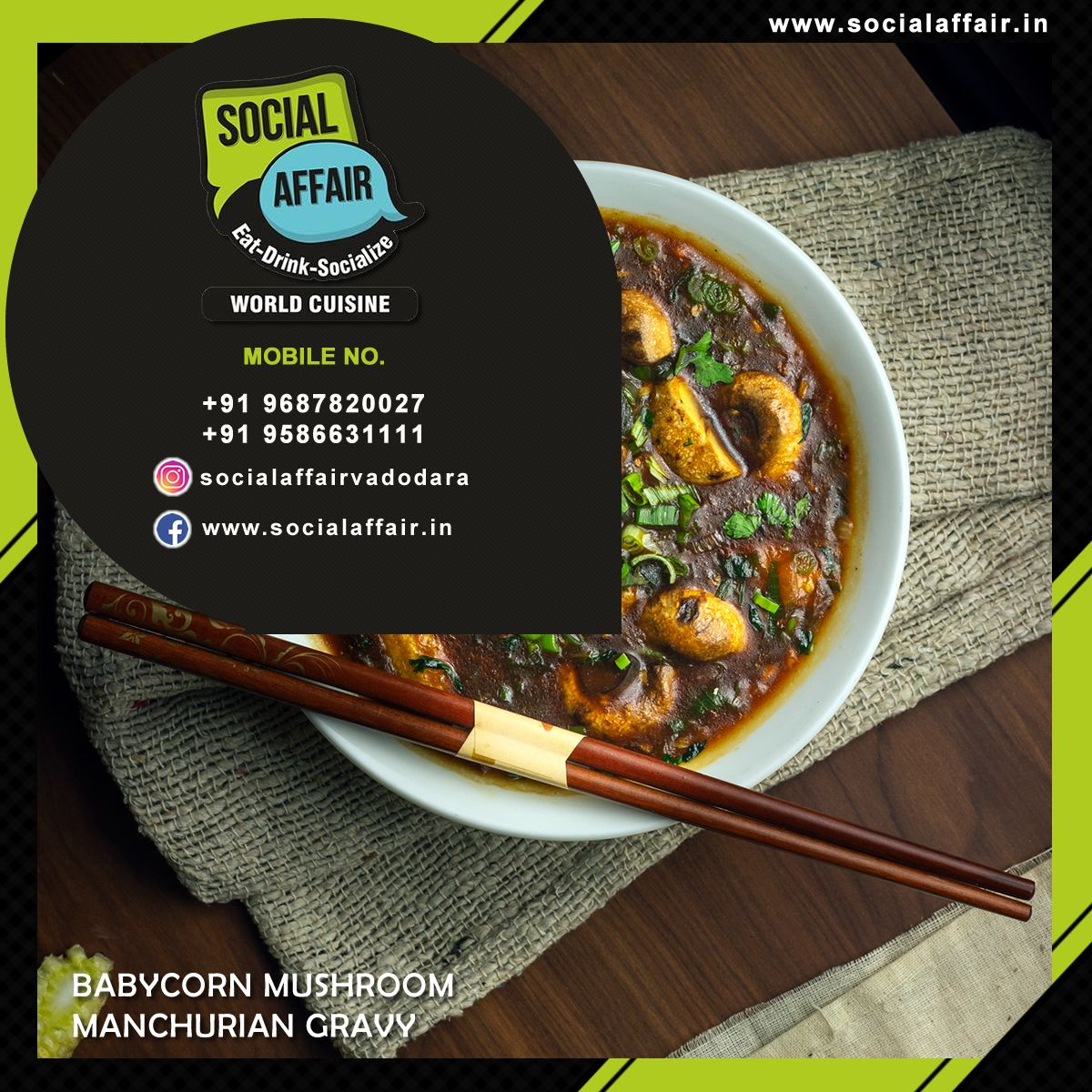 Best Restaurant In Vadodara In 2020 World Cuisine Manchurian Gravy Cuisine