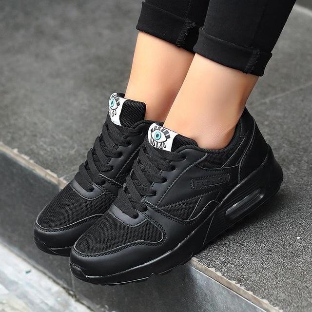 3c25ed9123b72 Korean Fashion Women Shoes Spring Casual Shoes Outdoor Walking Shoes ...
