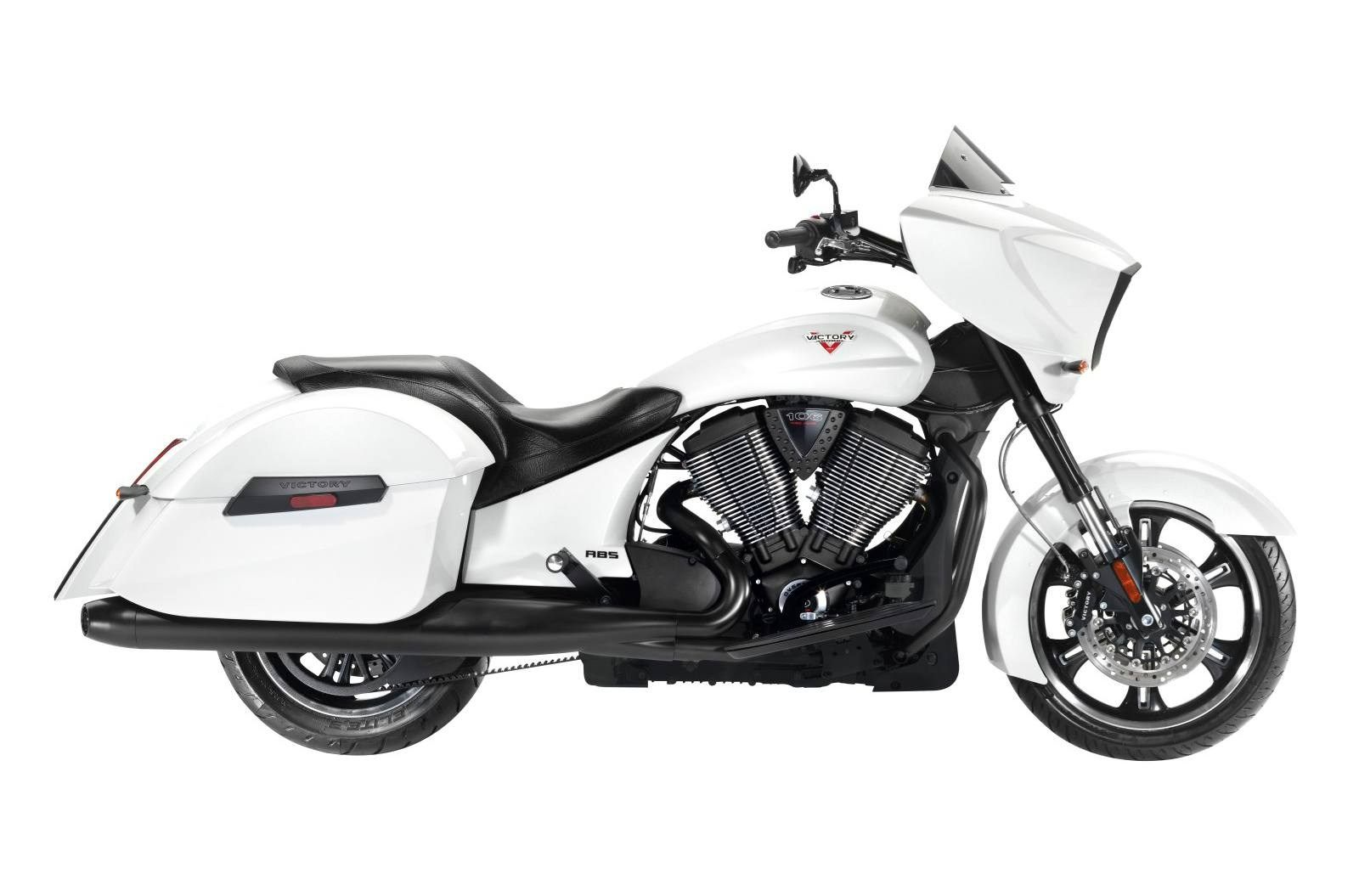 2014 Victory Motorcycles Cross Country® White Metallic