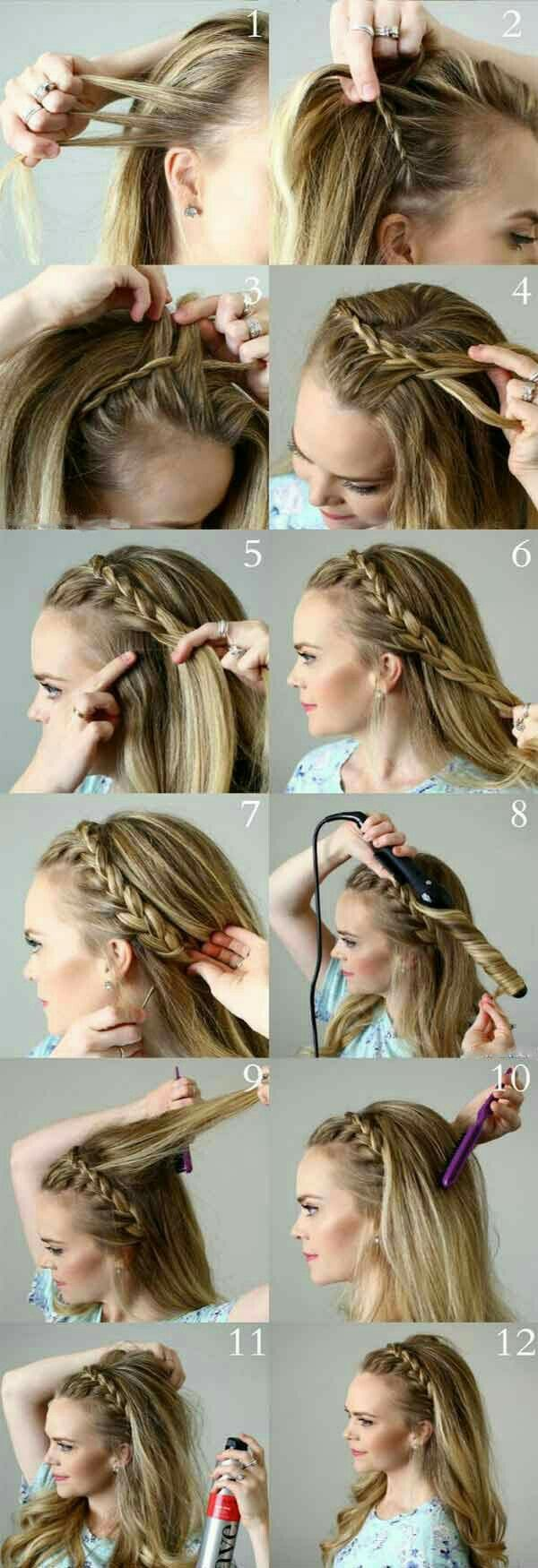Pin By Julia Bissoli On Beautiful Hair Style Photos Stylish Hair Photos In 2020 Braided Hairstyles Braided Headband Hairstyle Hair Styles