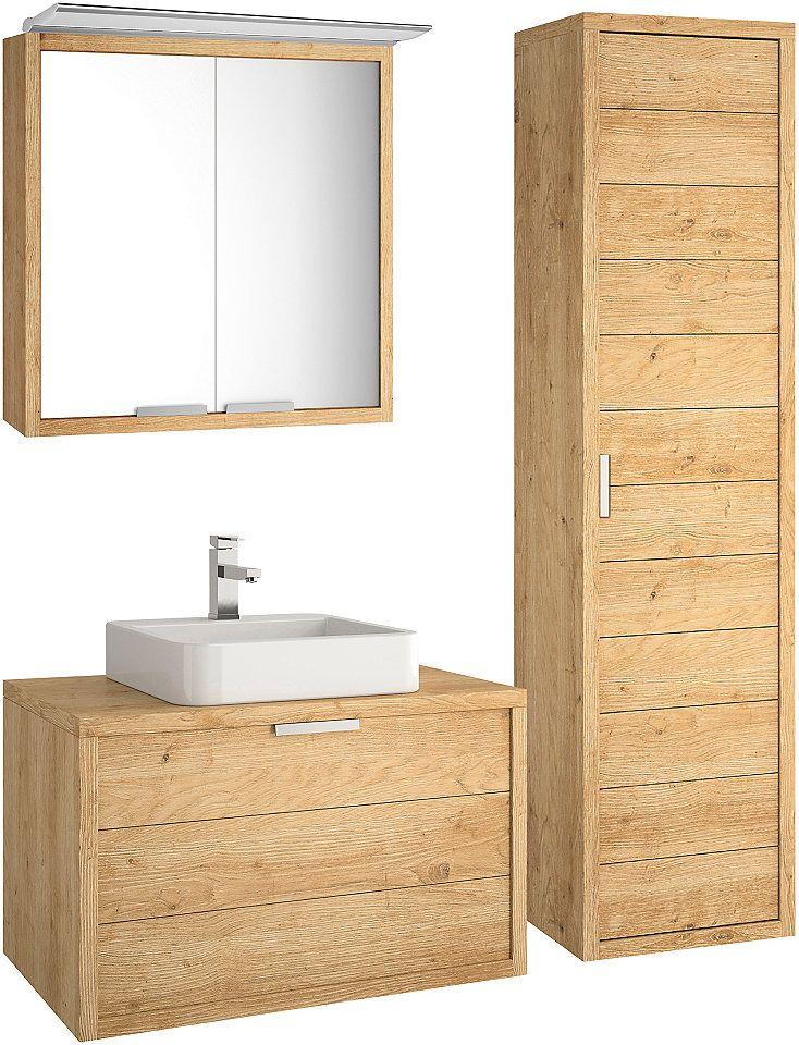ALLIBERT Badmöbel-Set »Palermo«, Gesamtbreite 150 cm (4-tlg) Jetzt - badezimmermöbel aus holz