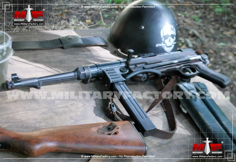 Picture of the MP40 (Maschinenpistole 40)