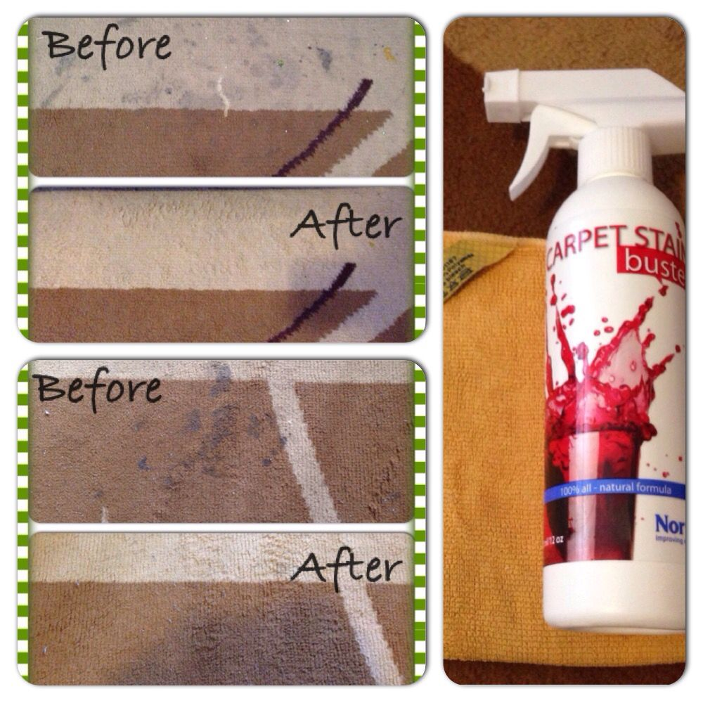 Norwex Before And After Stained Rug Cleaned With Norwex Carpet Stain Buster Enviro Cloth Carpet Cleaning Hacks How To Clean Carpet Carpet Cleaning Business